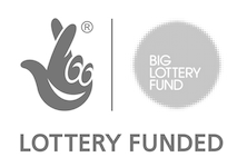 lottery funded logo bw